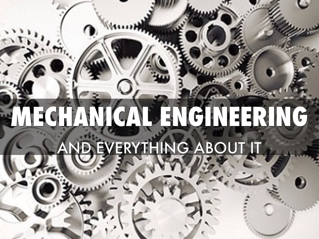 Mechanical Engineering study instruction